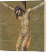 Crucifixion Fragment 1311  Wood Print