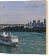 Cruise Ship 5 Wood Print