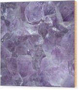 Crystal Cave Wood Print