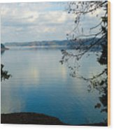 Cumberland Lake Wood Print