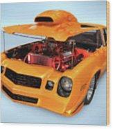 Custom Muscle Car Wood Print