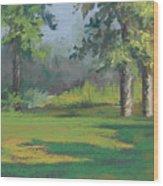 Daddy John's Paradise Wood Print