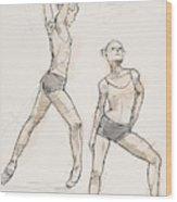 Dance Studies Wood Print