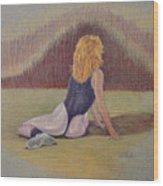 Dancer At Rest Wood Print