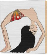 dancer of Ancient Egypt Wood Print