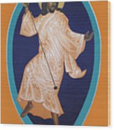 Dancing Christ Wood Print