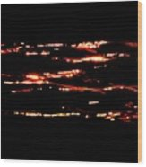 Dancing Light At Sunrise Three  Wood Print