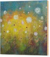 Dancing Wildflowers Series Wood Print