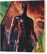 Daredevil Collection Wood Print