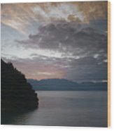 Dawn At Casa De Mundo Lake Atitlan 1 Wood Print