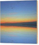 Dawn At Kempenfelt Bay Six  Wood Print