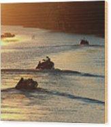 Dawn Patrol Wood Print