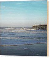 Daytona Dawn II Gp Wood Print
