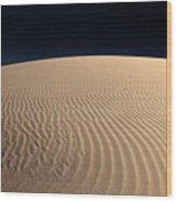 Death Valley's Sand Dunes Wood Print