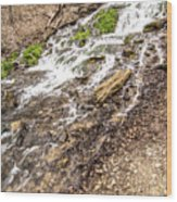 Decorah Iowa Waterfall Wood Print