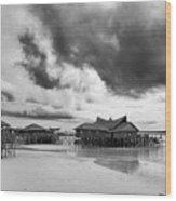 Derawan Island Wood Print