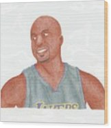 Derek Fisher Wood Print