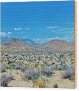 Desert Comfort Wood Print