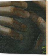 Detail - Temptation Of Christ Wood Print
