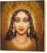 Devi Darshan Wood Print