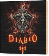 Diablo IIi Wood Print