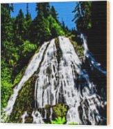 Diamond Creek Falls Wood Print