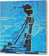 Dinka Lady - South Sudan Wood Print