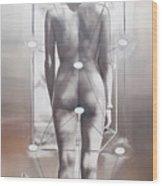 Diptych Omnia Mea Mecum Porto Wood Print