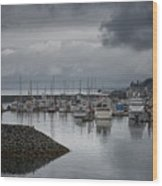 Discovery Harbour Wood Print