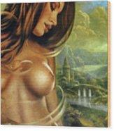 Diva Wood Print
