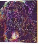 Dog Tintin Cute Animal  Wood Print
