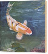 Doitsu Koi Wood Print