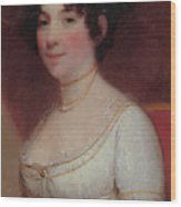 Dolley Madison Wood Print