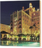 Don Cesar Beach Resort Hotel Wood Print