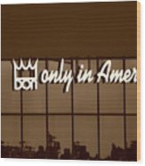 Don King Only In America Wood Print