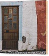 Door No 1 Wood Print