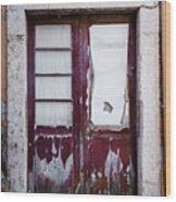 Door No 7 Wood Print