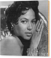 Dorothy Dandridge, Circa 1959 Wood Print by Everett