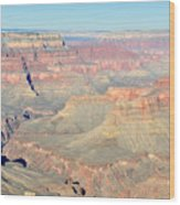 Down The Canyon Wood Print