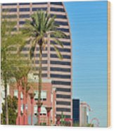 Downtown Phoenix Wood Print