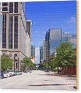 downtown Tampa FL, USA Wood Print