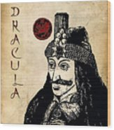 Dracula Wood Print