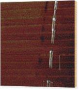 Drip Wood Print