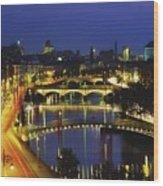 Dublin, Co Dublin, Ireland View Of The Wood Print