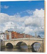 Dublin's Fairytales Around  River Liffey 2 Wood Print