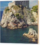 Dubrovnik King's Landing Fortress Wood Print