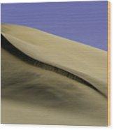 Dunes One Wood Print