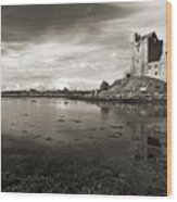 Dunguaire Castle Kinvara Co Galway Ireland Wood Print