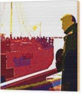 Dunkirk Wood Print