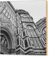 Duomo De Florencia Wood Print